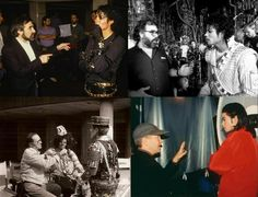 Martin Scorsese, Francis Ford Coppola, David Lynch and Sidney Lumet directing Michael Jackson.