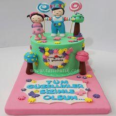 pepee doğum günü pastası
