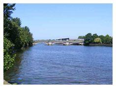 Bann Bridge Coleraine © Auscom. Coleraine, Co Londonderry, Northern Ireland.