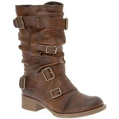Call It Spring® Camon Biker Boot. Super annoyed because I found on polyvore but can't find it for sale! I will look tomorrow.