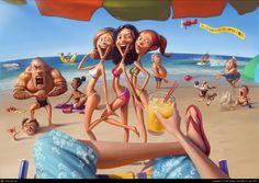 Playa!, por Tiago Hoisel