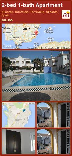 2-bed 1-bath Apartment in Alicante, Torrevieja, Torrevieja, Alicante, Spain ►€89,100 #PropertyForSaleInSpain