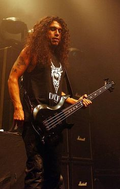 Tom Araya from Slayer