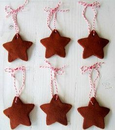 Making homemade cinnamon ornaments is perfect project for kids. These Handmade Cinnamon Ornaments are a great DIY decoration for them to work on. These homemade ornaments are an easy way to get your whole family into the holiday spirit.