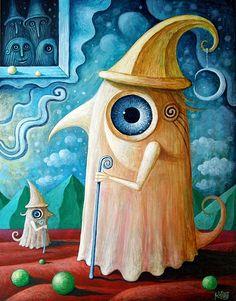 Surreal Paintings by Leszek Kostuj