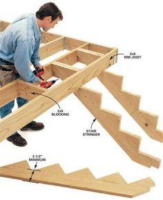 7 Deck Building Tips #deckbuildingtips #buildadeck