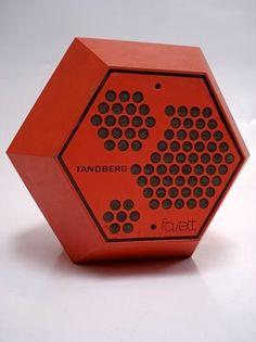 Terje Ekstrøm; 'Fasett' Speaker for Tandbergs Radiofabrikk, 1971.