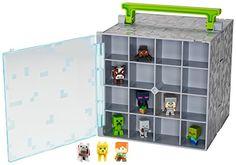 Minecraft Mini-Figure Collector Case with 10 Mini-Figures
