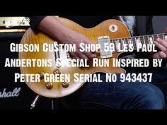 Top Shelf Guitars - Gibson CS 59 LP Andertons Special Run Inspired by Peter Green Serial No 943437 - Tronnixx in Stock - http://www.amazon.com/dp/B015MQEF2K - http://audio.tronnixx.com/uncategorized/top-shelf-guitars-gibson-cs-59-lp-andertons-special-run-inspired-by-peter-green-serial-no-943437/