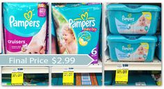 Coupon Reset---Pampers Diapers and Wipes, Only $2.99 at Rite Aid! - The Krazy Coupon Lady