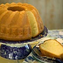 Mary Shivers' Coconut Pound Cake:  Prep Time: 20 minutes  Bake Time: 60–70 minutes  Makes: one 10-inch cake
