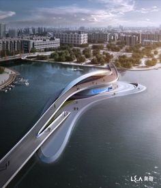 Wuxi Xidong Park Bridge / L&A Design Group