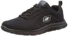 Skechers Women's Sweet Spot Fashion Sneaker,Black,9 M US Skechers