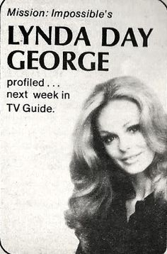 Lynda from TV Guide magazine, Lynda Day George, Christopher George, Tv Guide, Profile, Actresses, Humor, Magazine, Actors, User Profile