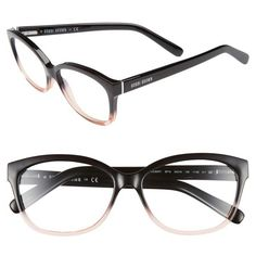 Women's Bobbi Brown 'The Mulbery' 54Mm Reading Glasses (1,355 MXN) ❤ liked on Polyvore featuring accessories, eyewear, eyeglasses, lightweight reading glasses, bobbi brown cosmetics, lightweight eyeglasses, reading eye glasses and lightweight glasses