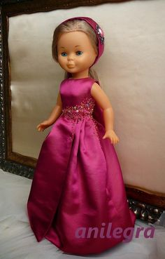 ANILEGRA COSE PARA NANCY: Vestido de alfombra roja para la Nancy diva de Esther