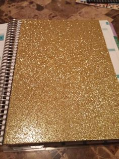 Laminated Double sided  Gold Glitter Dashboard (Moveable) – Erin Condren Life Planner on Etsy, $6.00