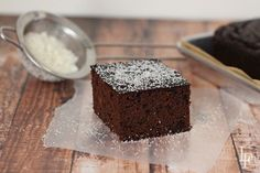 This paleo chocolate cake recipe uses mostly coconut flour. It's grain free, dairy free, and uses honey or maple syrup and half the eggs than other recipes. Paleo Sweets, Paleo Dessert, Dessert Recipes, Dinner Recipes, Coconut Recipes, Paleo Recipes, Easy Recipes, Cooking Recipes, Paleo Chocolate Cake