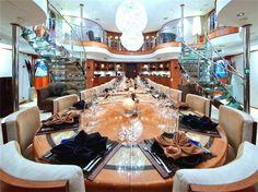 Perfect interior for a yacht www.jwilenterprise.com