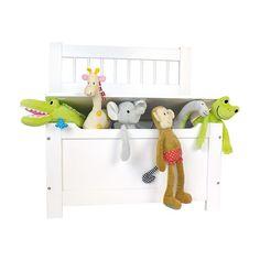 Skrzynia, ławka na zabawki Jabadabado