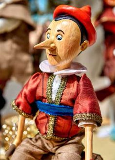 Pinocchio collection by Goodwill Belgium - Pinocchio doll
