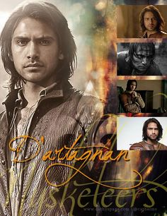 The Musketeers graphics set - D'Artagnan
