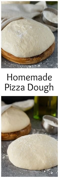 My Tried And True, All Time Favorite Recipe For Homemade Pizza Dough. I