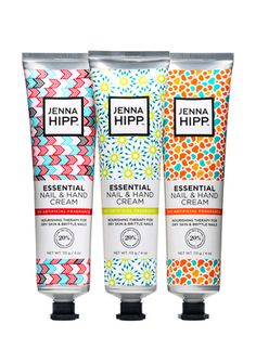 On ideeli: BEAUTY'S MOST WANTED Jenna Hipp Essential Hand and Nail Cream Set