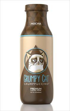 Grumpy cat made a drink? NICE