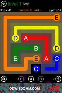 Flow Free na #iOS i #Android. #iPhone #iPad #iPodTouch #Google #gry #recenzje