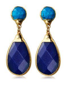 Janna Conner Turquoise & Cobalt Jade Earrings, http://www.myhabit.com/redirect/ref=qd_sw_dp_pi_li?url=http%3A%2F%2Fwww.myhabit.com%2Fdp%2FB013G34KLC%3F