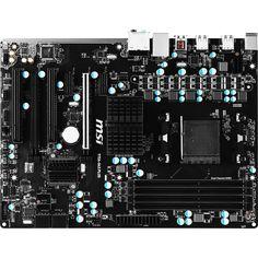 MSI 970A-G43 Plus Desktop Motherboard - AMD 970 Chipset - Socket AM3