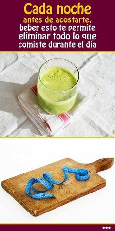 Cada noche antes de acostarte, beber esto te permite eliminar todo lo que comiste durante el día