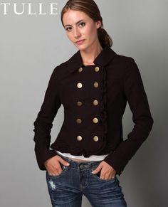 Tulle Ramona Ruffle Jacket - $71.00 : Fashion Clothing On Sale at LuLus.com - StyleSays