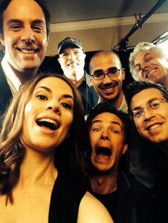 Thank you technical team!    Hayley Atwell, James D'Arcy    Twitter    #cast #crew