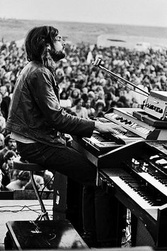 Rick Wright Pink Floyd - 18th September 1970 in California.