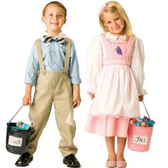 Jack and Jill Costume Fairytale Classics Halloween NIP Toddler Abc Costumes, Fairy Tale Costumes, Book Day Costumes, Book Week Costume, Theatre Costumes, Toddler Costumes, Cute Costumes, Girl Costumes, Costume Ideas
