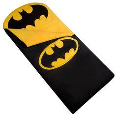 Batman Logo Kids Sleeping Bag