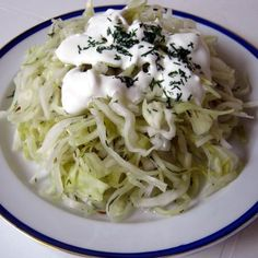 Hungarian Cuisine, Cake Cookies, Cabbage, Spaghetti, Food And Drink, Canning, Vegetables, Ethnic Recipes, Anna