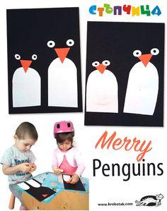 Merry Penguins | krokotak