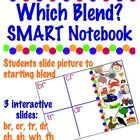 You need a SMART Board and Notebook software to use this.There are 3 slides where students slide 20 pictures to the correct starting blend....