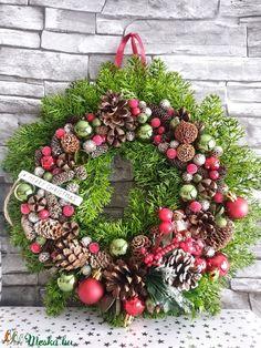 Hagyományos  (ranyomlak) - Meska.hu Decoupage, Christmas Wreaths, Holiday Decor, Diy, Home Decor, Decoration Home, Bricolage, Room Decor, Diys