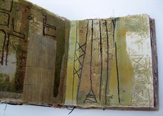 Thread and Thrift: The Decorated Sketchbook  http://threadandthrift.blogspot.fr/2012/03/decorated-sketchbook.html