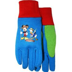 I'm glass to find this pair of gloves! I have a 3 Y.O. boy, and this fits on his small hands perfectly! I tried Melissa & Doug (http://amzn.com/B002C11IIS) which is way too big and has to wait for a couple of years at least.I wish this has some insulation for outdoor play (e.g., riding a bicycle in a cold weather) but I knew this is designed for gardening. Still, having this on is much better than bare hands!