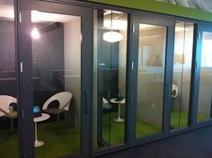 Need to make a quick phone call?  They have built phone rooms throughout the space.