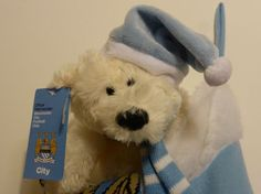 WIN a Stocking Full of Man City Gifts Christmas Competitions, Stockings, City, Socks, Cities, Panty Hose, Sock