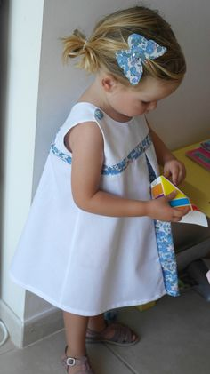 Trendy Sewing Dress For Little Girls Kids Ideas Baby Couture, Couture Sewing, Little Girl Dresses, Little Girls, Flower Girl Dresses, Sewing For Kids, Baby Sewing, Chut Charlotte, Charlotte Dress