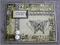 Ange's Treasures: International Blog Highlight - In This World Stamping Up, Potpourri, Textured Background, Beautiful Day, Cardmaking, Birthday Cards, Highlights, Catalog, Gallery Wall