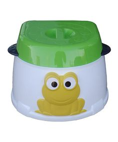 Green Frog Three-in-One Potty