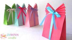 Πώς να φτιάξετε μία σακούλα δώρου απο μία κόλλα χαρτί! [ΒΙΝΤΕΟ] | Φτιάξτο μόνος σου - Κατασκευές DIY - Do it yourself